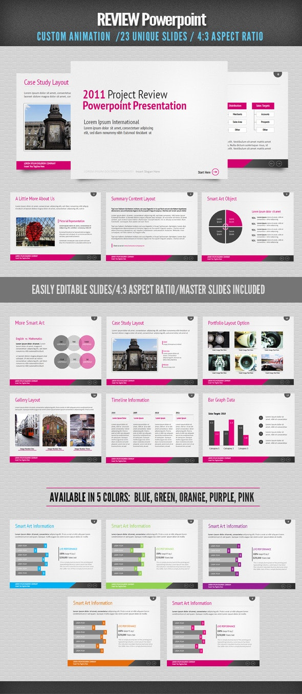 Review Powerpoint - Business PowerPoint Templates