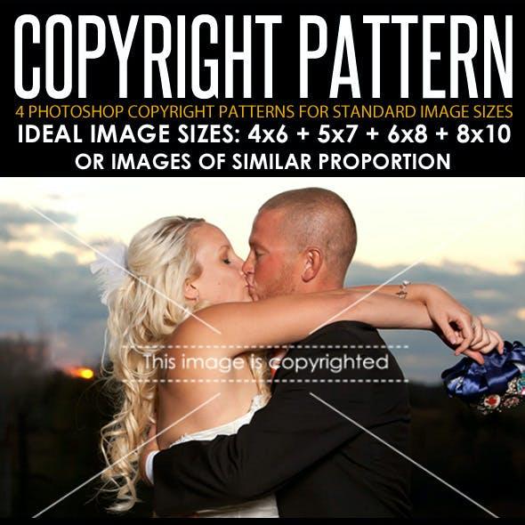 Photoshop Image Copyright Patterns