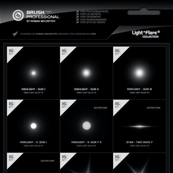 Brush Pack Professional Volume 2 - Light & Flare