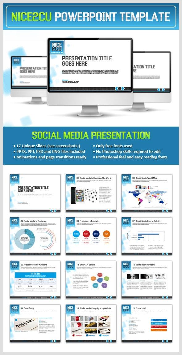 Nice2cu Powerpoint Presentation - Business PowerPoint Templates