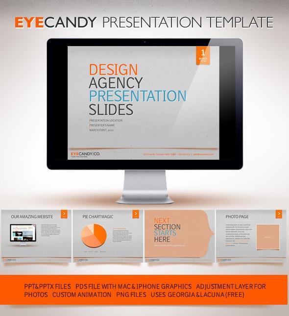 Eyecandy Powerpoint Presentation - PowerPoint Templates Presentation Templates
