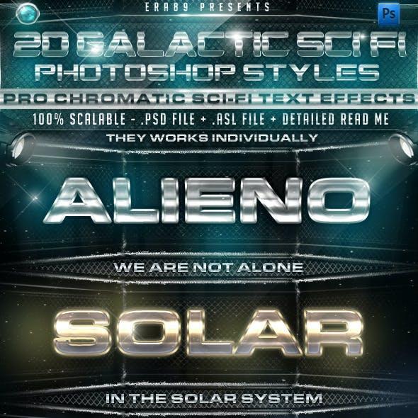 20 Galactic Sci Fi PS Styles