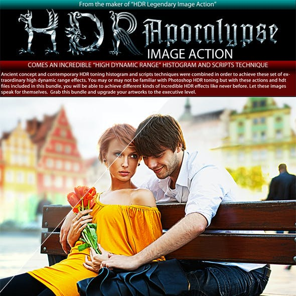 HDR Apocalypse Image Effects