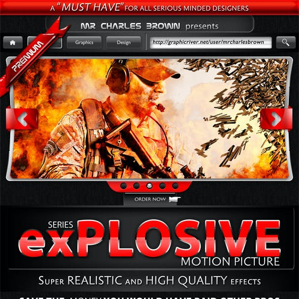 Motion Picture Explosive Series