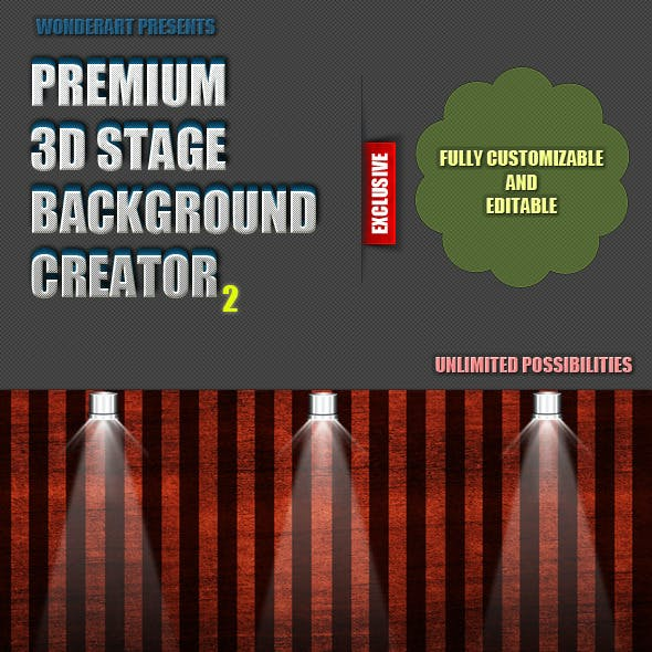 Pro 3D Stage Creator