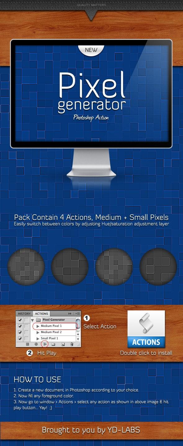 Pixel Generator - Utilities Actions