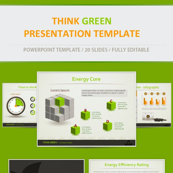 Think Green - Eco Friendly Presentation Template