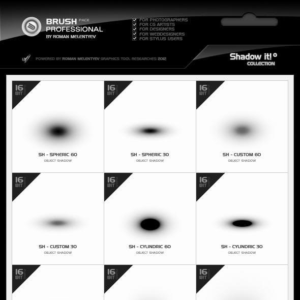 Brush Pack Professional volume 3 - Shadow It!
