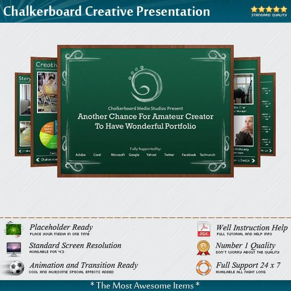 Chalkerboard Creative Presentation Templates