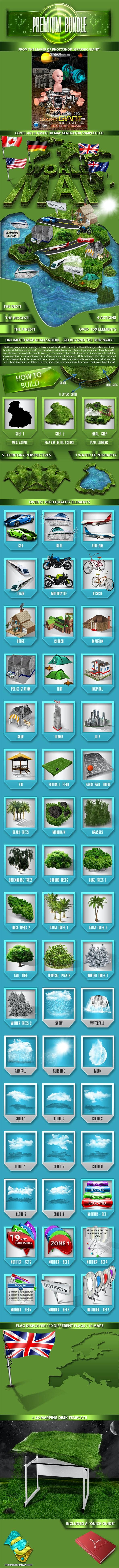World 3D Map Generator - Utilities Actions