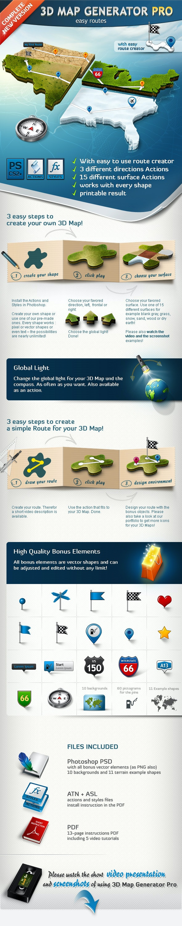 3D Map Generator Pro – Easy Routes - Utilities Actions