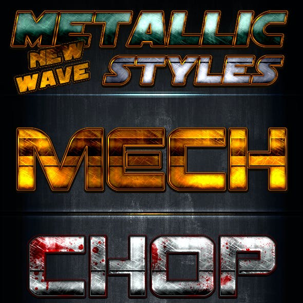 Metallic Styles - New Wave