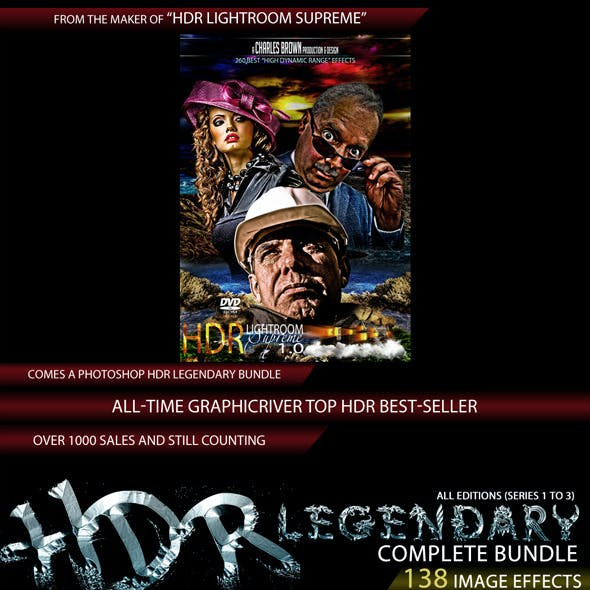 Complete HDR Legendary Pro Bundle