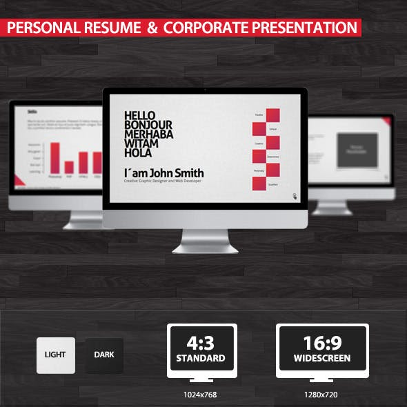 Personal Resume & Corporate Presentation