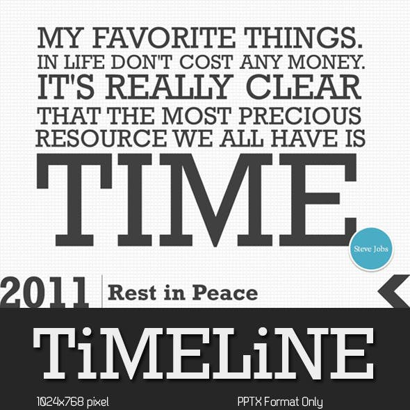 Timeline PowerPoint Presentation