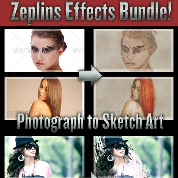 Zeplins 4-in-1 Effects Bundle