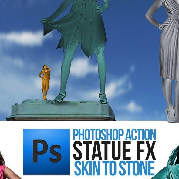 Statue Portrait Action
