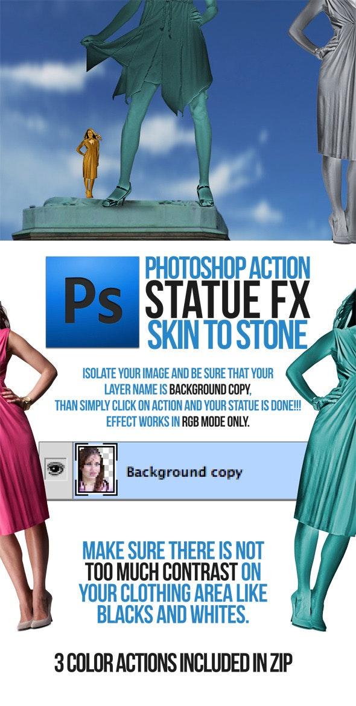 Statue Portrait Action - Utilities Actions