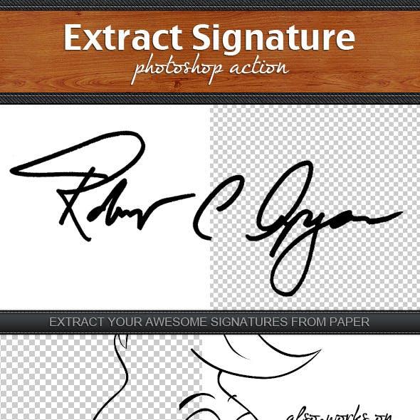 Extract Signature