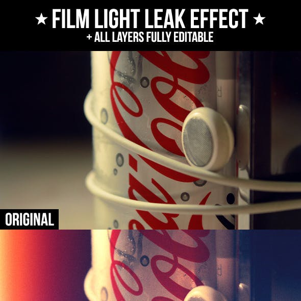 Film Light Leak Effect