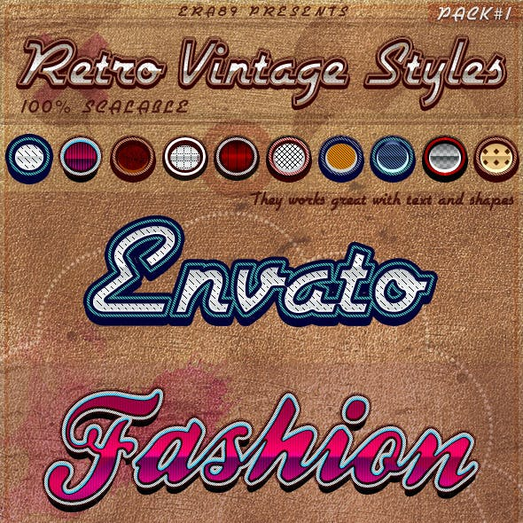 Retro Vintage Styles