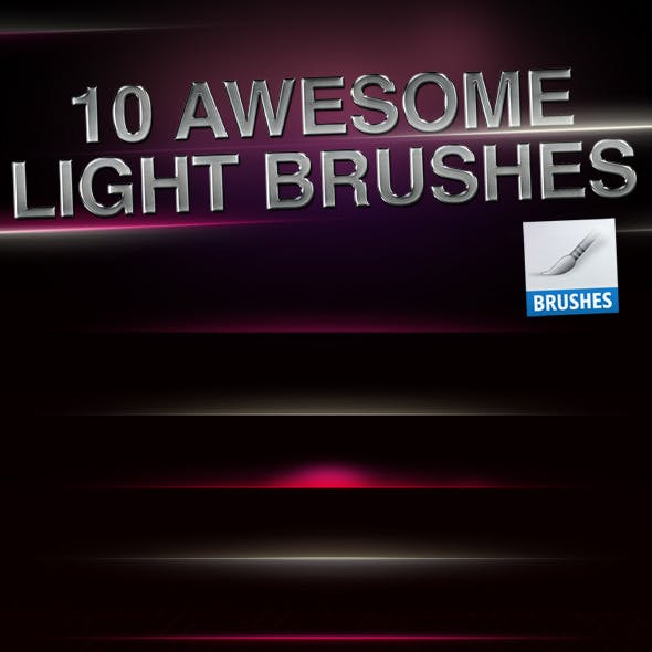 HQ Light Flares Brushes