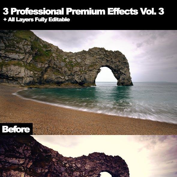 3 Professional Premium Effects Vol. 3
