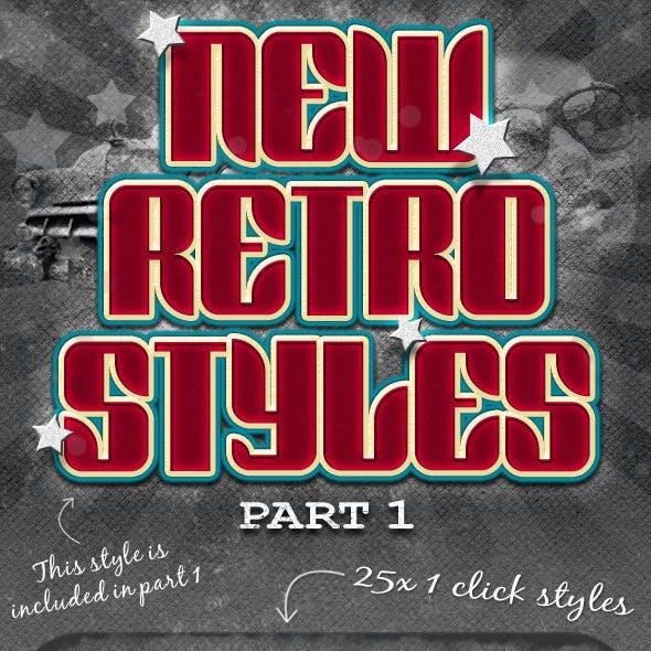New Retro Styles Part 1