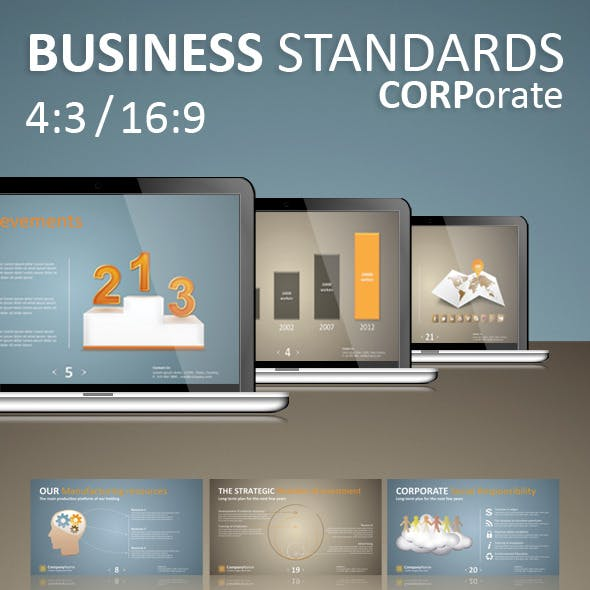 Business Standards: Keynote Corporate Presentation