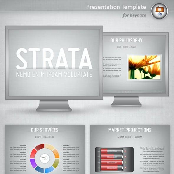 Strata Keynote Template