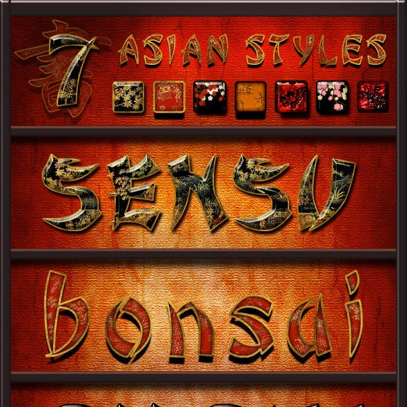 Asian Styles Pack