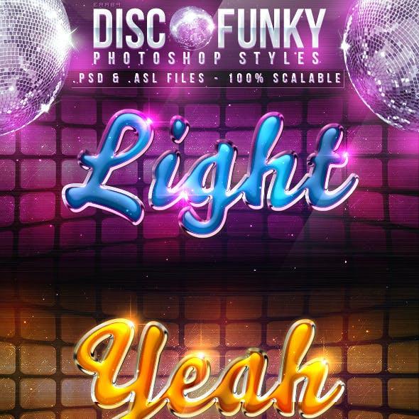 Disco Funky Photoshop Styles