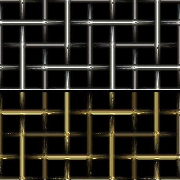 Metal Grid Patterns