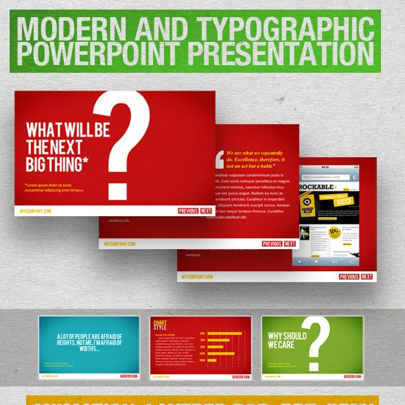 Simplistic Professional PowerPoint Template
