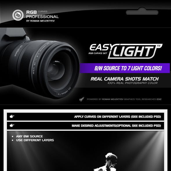 RGB Curves Professional - Easy Light