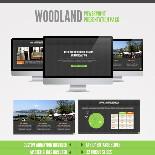 Wood Land  Powerpoint