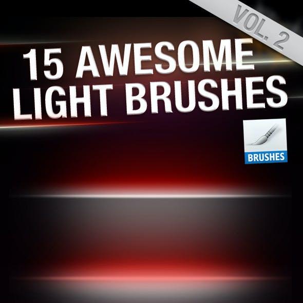 HQ Light Flares Brushes Vol.2