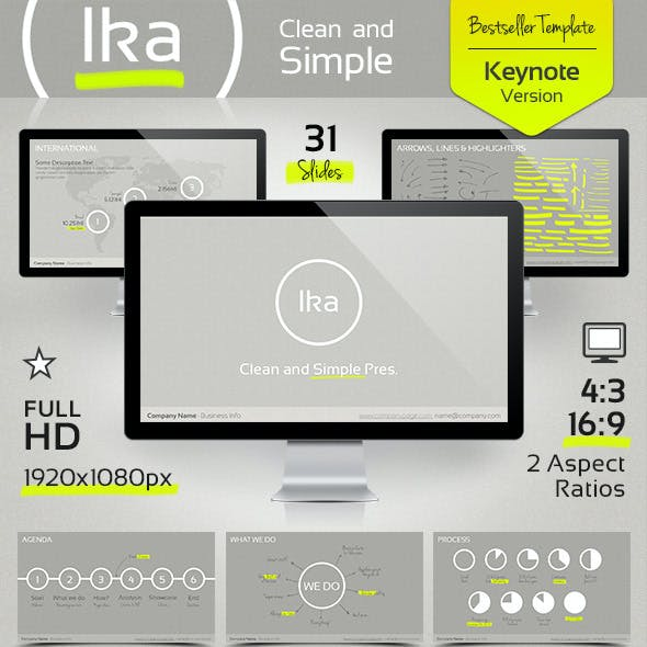 Ika - Clean and Simple Keynote Template