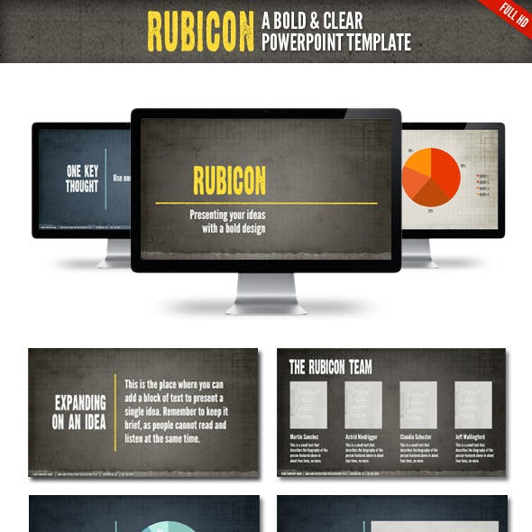 Rubicon Powerpoint Presentation Template