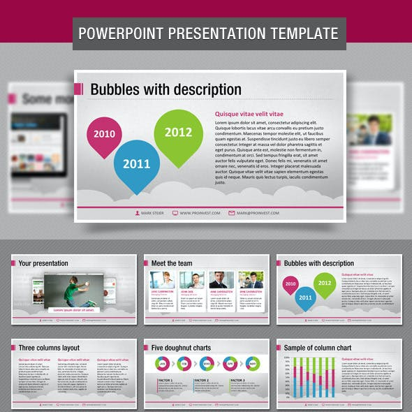 Bubbles PowerPoint Presentation Template