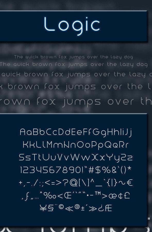 Logic - Sans-Serif Fonts