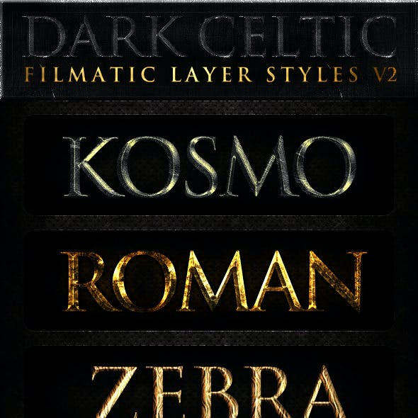 Dark Celtic Filmatic Styles v2