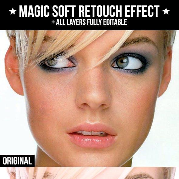 Magic Soft Retouch Effect