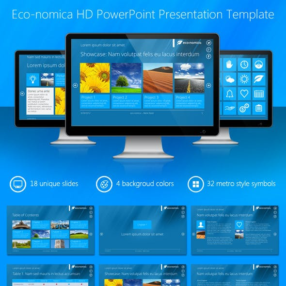Eco-nomica HD PowerPoint Presentation Template