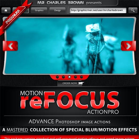 Motion Refocus Picture Action