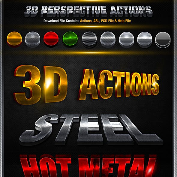 3D Action Pack