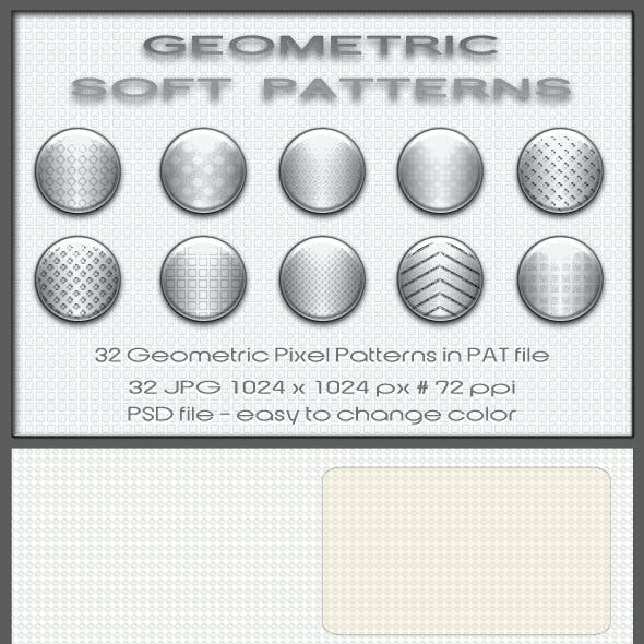 32 Geometric Soft Patterns