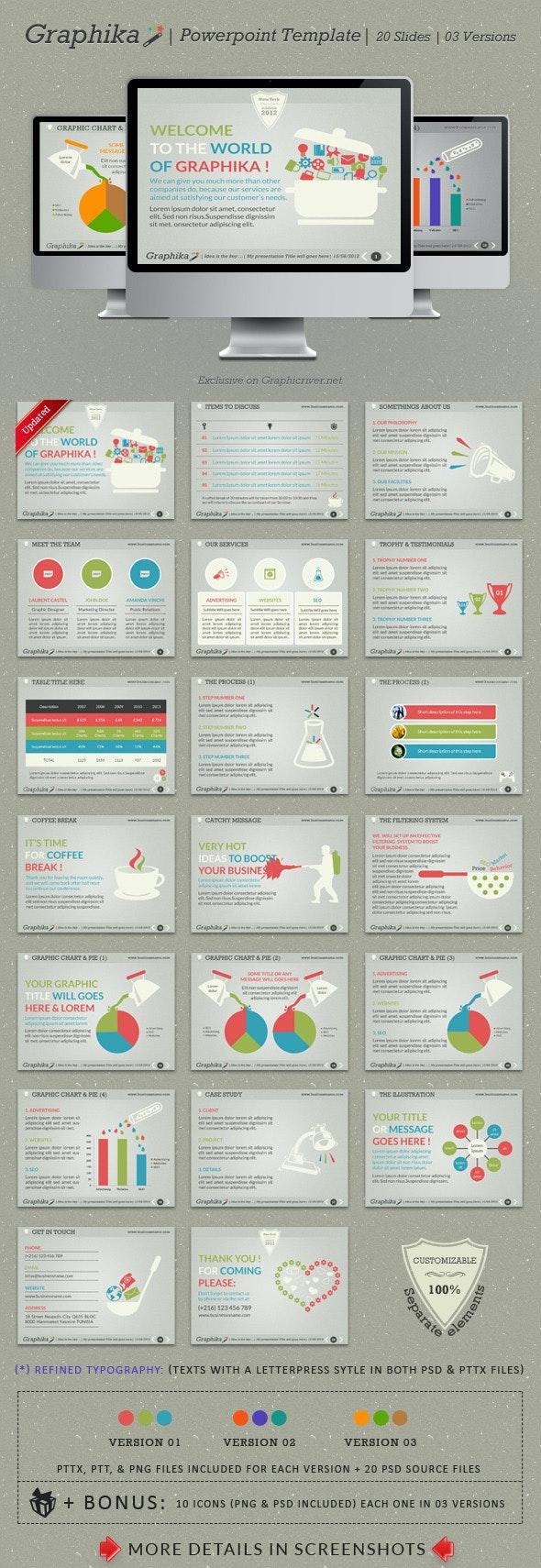 Graphika PowerPoint Template - PowerPoint Templates Presentation Templates