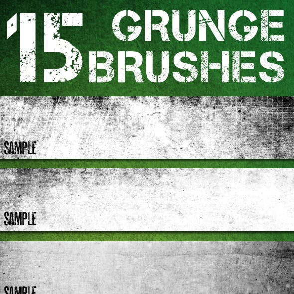 Photoshop Grunge Theme Brush Set - Volume 2