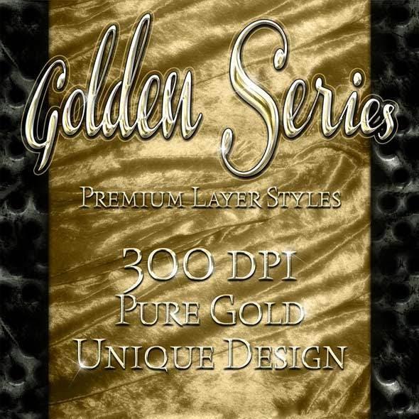 Golden Series - Premium Layer Styles